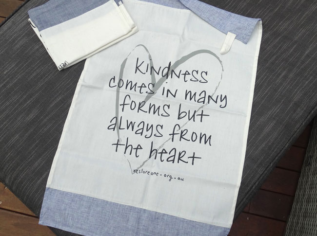 Tea towel kindness