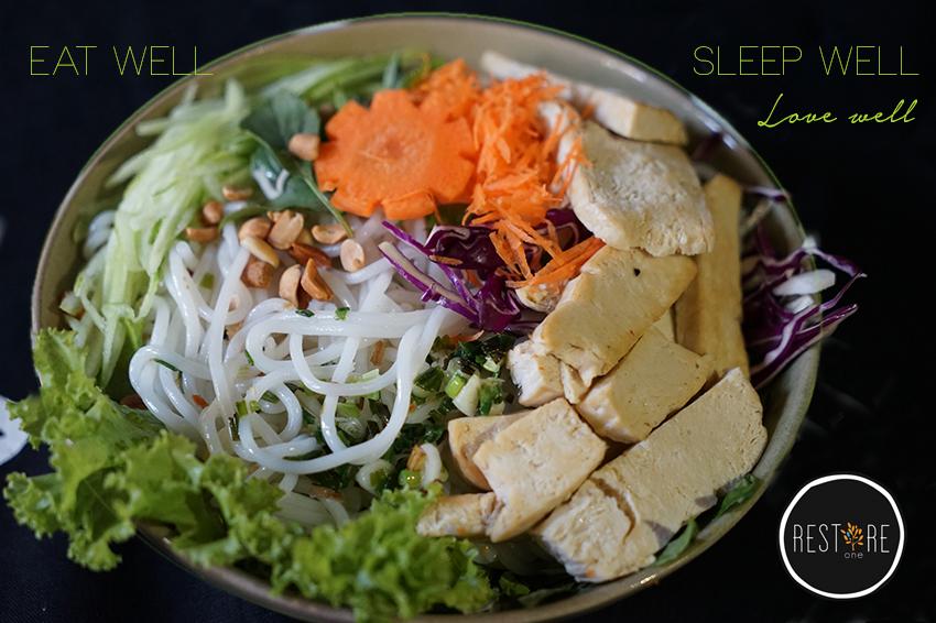 Eat well, sleep well, love well