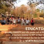 Education promotes equality and lifts people out of poverty