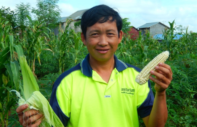 Restore One School agriculture
