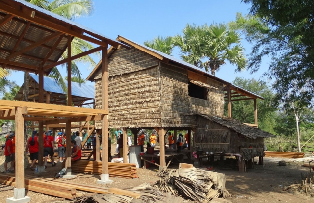 Restore One Teams building houses for families in need