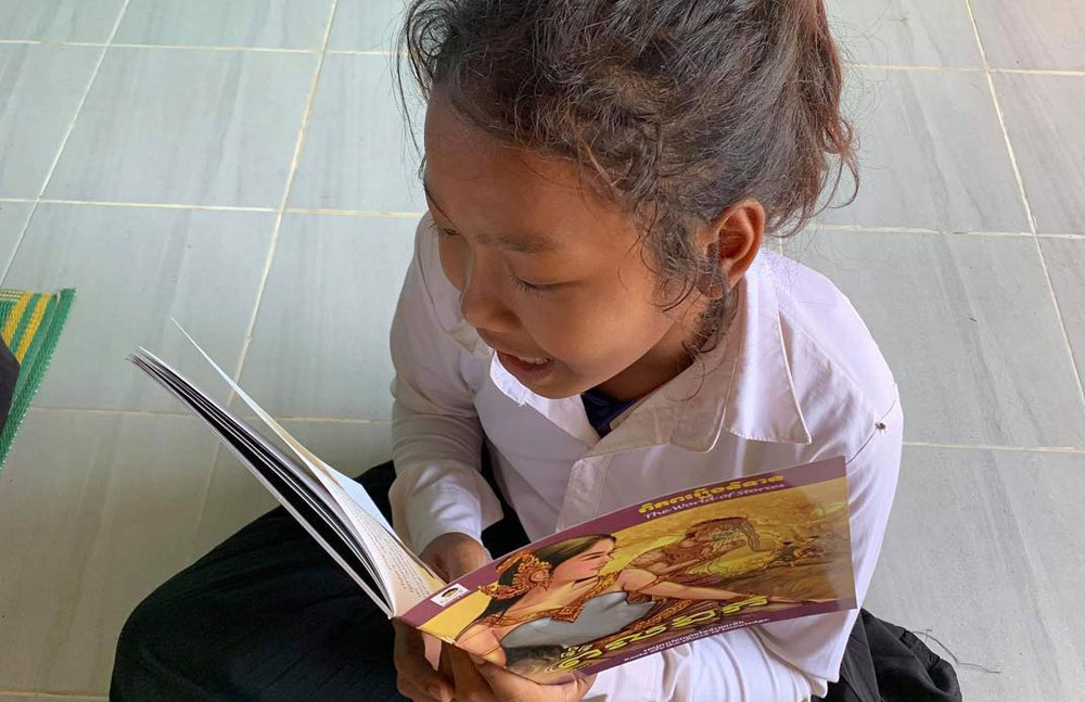 Reading - Restore One Primary School Library