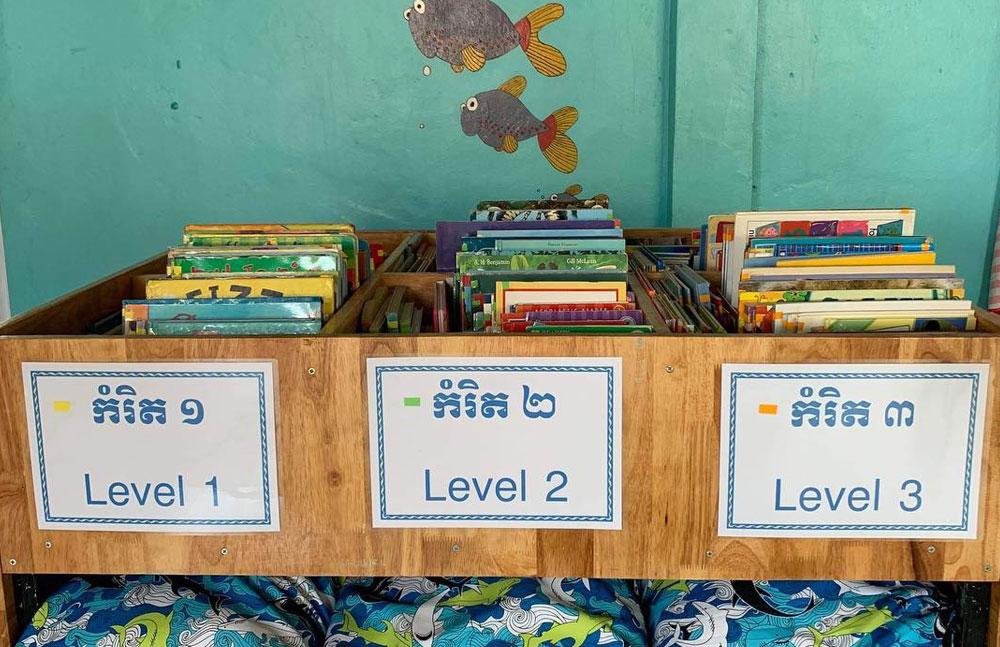 Restore One Primary School Library