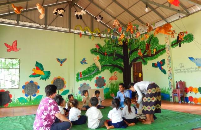 Restore One Pre School classroom