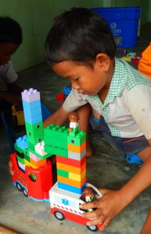 Restore One Pre School lego corner