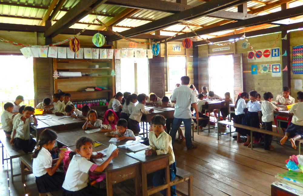 Restore One Primary School - classroom