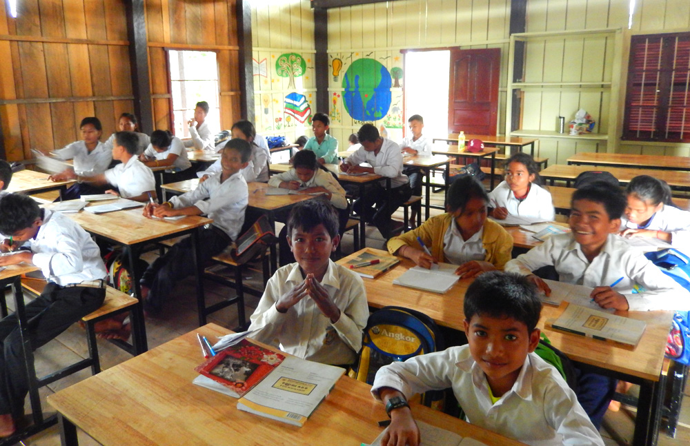 Restore One Secondary School - classroom