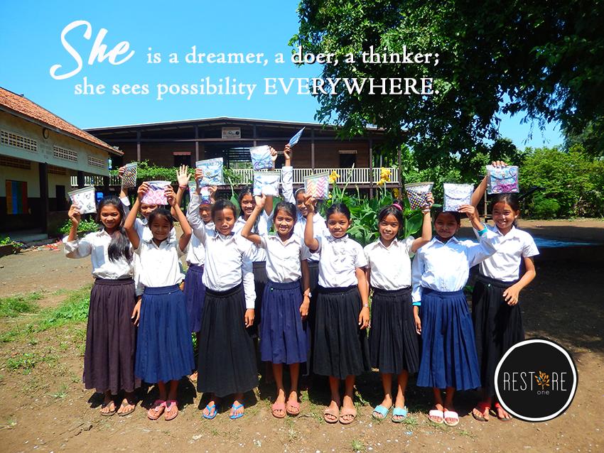 She is a dreamer…