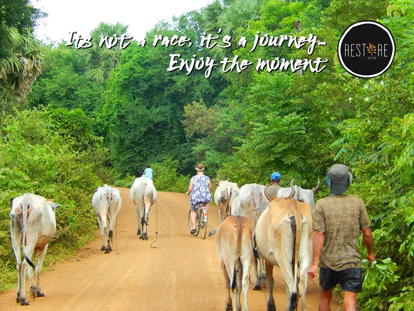 It's not a race, it's a journey