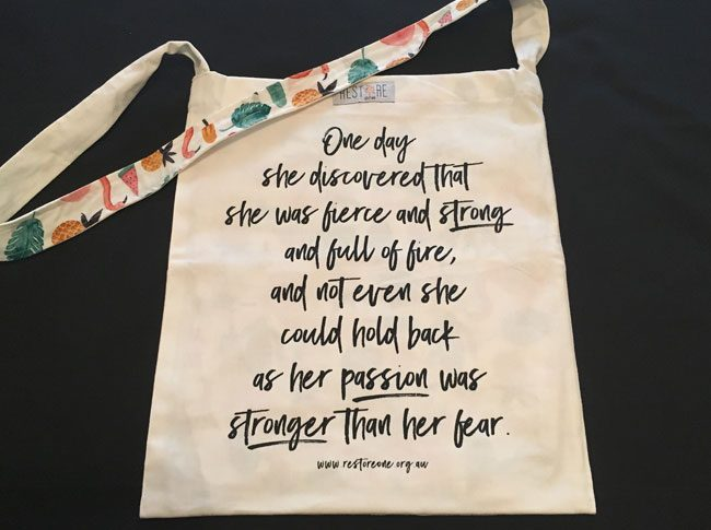 Tote bags Fierce and strong