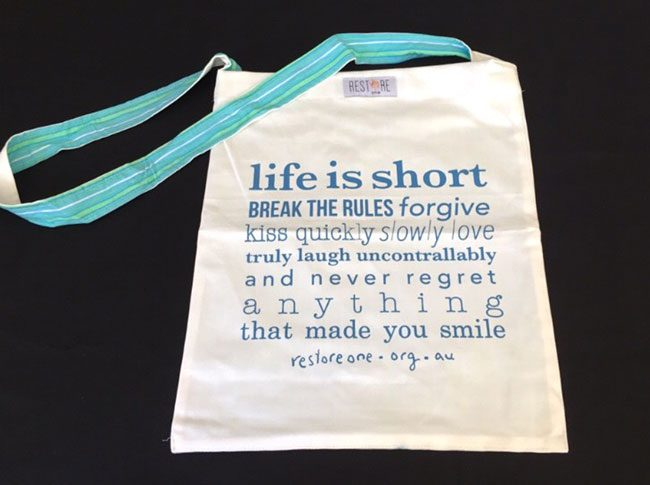 Tote bags Life is short