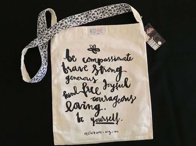 Tote bags be compassionate