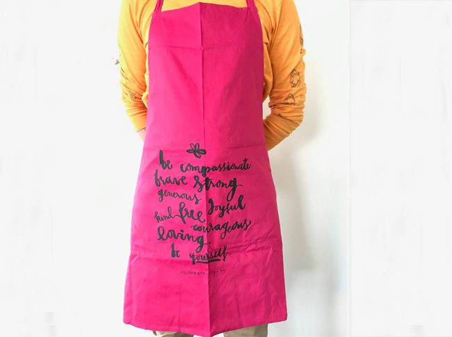 Aprons adults be compassionate