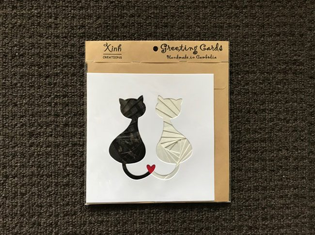 Greeting cards cats