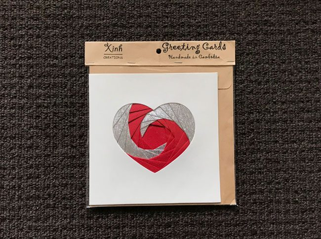 Greeting cards heart