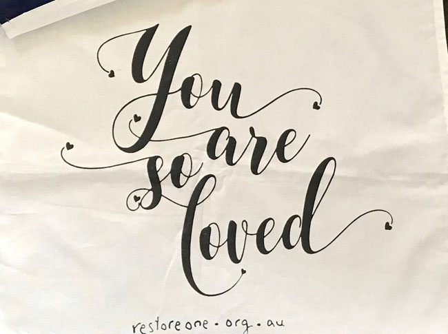 Tea Towel: You are so loved