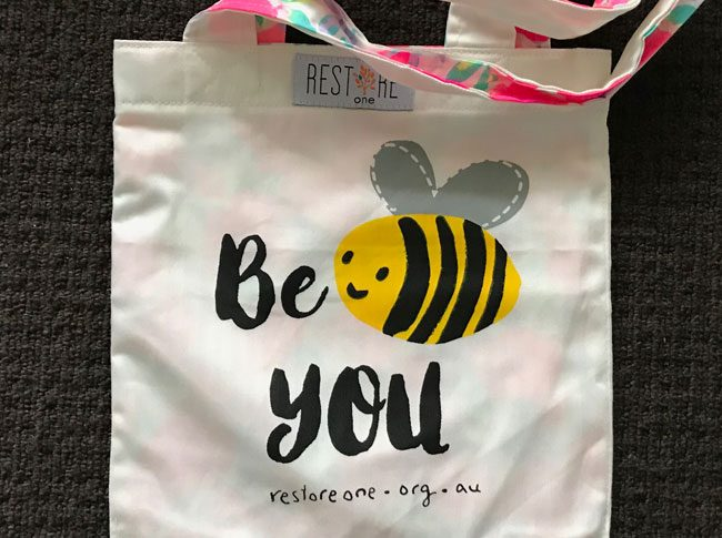 Tote bags kids - be you
