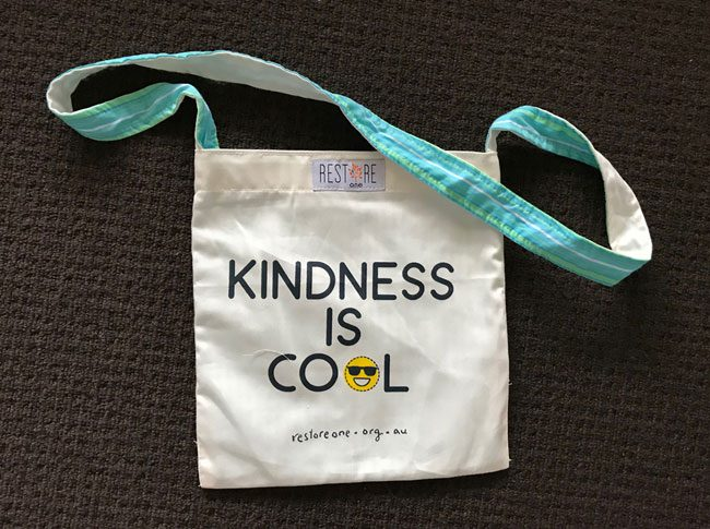 Tote bags kids - kindness is cool