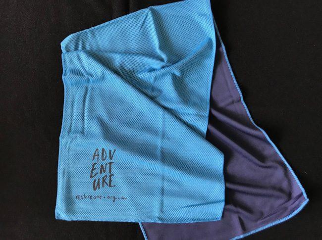 Magic Sports Towels Blue