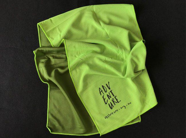 Magic Sports Towels Green
