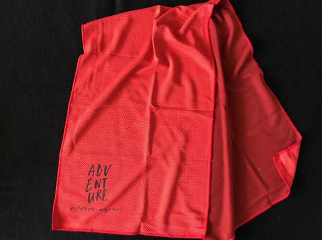 Magic Sports Towels Red