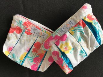 MakeUp Bags Hawaiian print