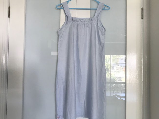 Ladies Summer nightie blue