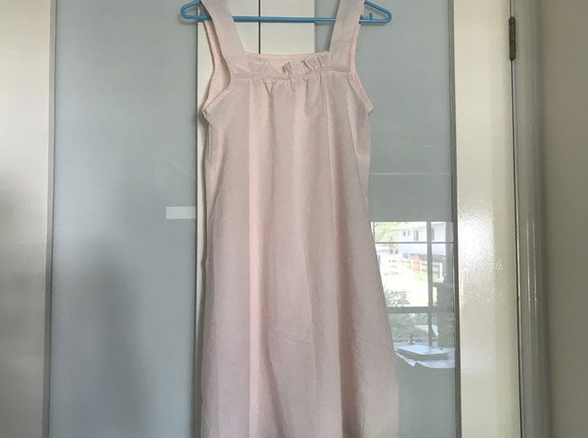 Ladies Summer nightie pink