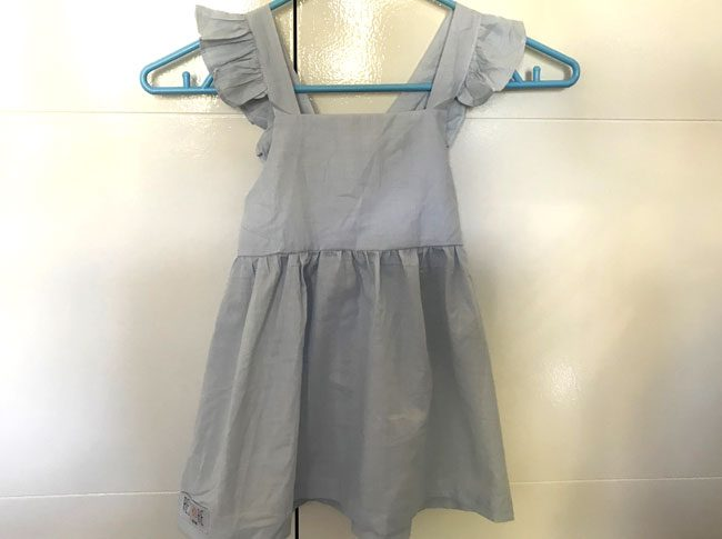 Summer dresses small blue