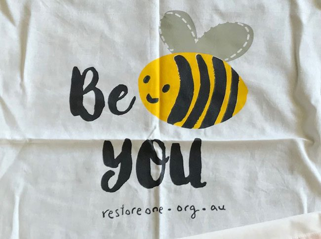 Tea Towel -Be you