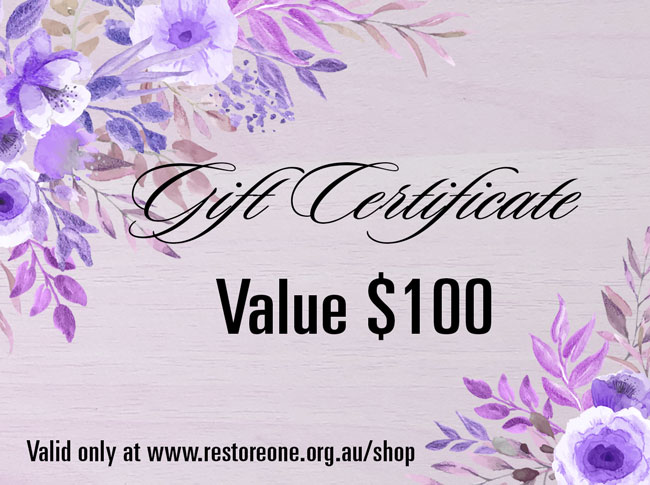 Gift Certificate value $100