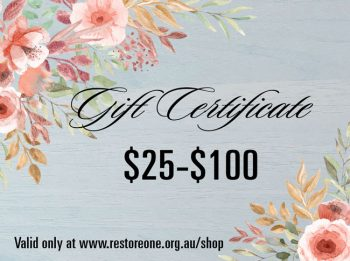 Gift Certificates $25-$100