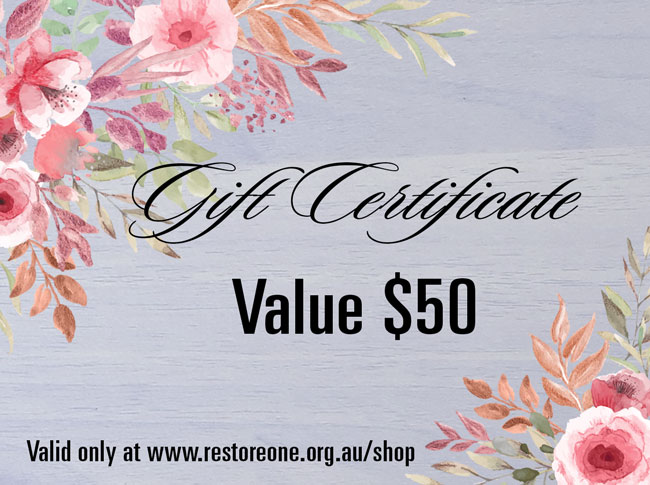 Gift Certificate value $50