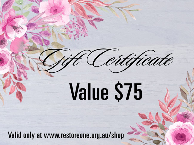 Gift Certificate value $75