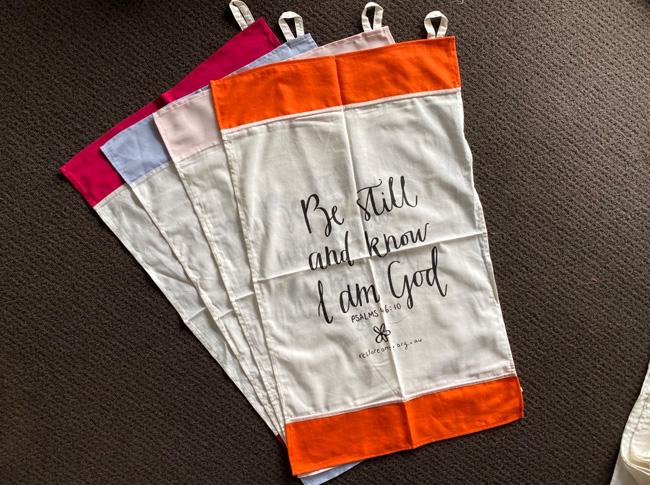Tea towel - Be Still