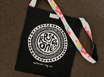 Tote bag black, restore one