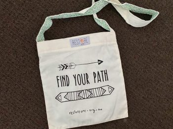 Tote bag kids, Find your path