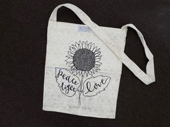 Tote bags - sunflower